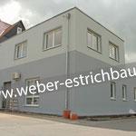 (2021) - Sanierung Verwaltungsgebäude Gemeinde Sonnenstein, 37345 Weißenborn/Lüderode - Calciumsulfat-Fließestrich, Zementestrich, Polysterol-Hartschaumplatten