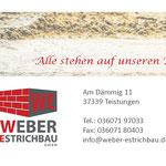 (2014) - Umbau und Sanierung Bürgerhaus, 37351 Dingelstädt - Zementestrich, Schnellbinder