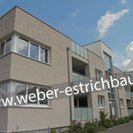 (2018) - Neubau Wohn- und Geschäftsgebäude, 37308 Heilbad Heiligenstadt - Wärme- u. Trittschalldämmung, Verlegen von Leichtbeton, Schnellbinder, Zementestrich