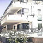 (2017) - Neubau Mehrfamilienhaus, 37115 Duderstadt - Dämmschicht und Ausgleichsschicht, Trittschalldämmung, Erstellung von Dehnungsfugen, Zementestrich