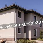 (2015) - Neubau Zweifamilienhaus, 37339 Worbis - Wärme- u. Trittschalldämmung, Ausgleichsschüttung, Calciumsulfat Fließestrich