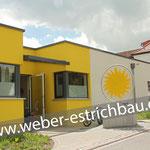 (2019) - Neubau Kindertagesstätte, 37345 Weißenborn/Lüderode - Calciumsulfatestrich, Zementestrich