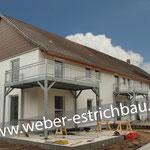 (2020) - Umbau Mietwohnungen, 37120 Reyershausen - Zementestrich, Wärmedämmung, Leichtestrich