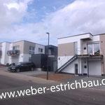 (2018) - Neubau Doppelhaus, 37308 Heilbad Heiligenstadt - Verlegung von Rolljet, Verlegung von Wärmedämmung, Schwimmender Zementestrich