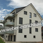 (2020) - Neubau 6 WE, 37154 Northeim/Hillerse - Unterbau für Fußbodenheizung, schwimmender Calciumsulfat-Fließestrich, Wärmedämmung