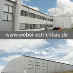 (2018) - Neubau Lagerhalle mit Werkstatt und Büro, 37124 Rosdorf - Wärme- u. Trittschalldämmung, Schnellbinder, Schwimmender Estrich, Zementestrich