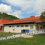 (2013) - Erweiterung Kindergarten, 37431 Barbis - Zementestrich, Wärme- u. Trittschalldämmung, Schnellzementestrich, ARDEX 38