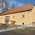 (2021) - Landwirtschaftsmuseum, 37136 Waake - Zementestrich mit AKS-Bewehrung, Bodenplatte, Rohrleitungen, Dehnungsfuge, Randstreifen, Entwässerung außerhalb der Bodenplatte