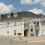 (2013) - Neubau Wohnhaus mit 6 WE, 37339 Berlingerode - Calciumsulfat-Fließestrich, Wärmedämmung, Zementestrich