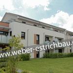 (2018) - Neubau Wohnanlage, 37115 Duderstadt - Dämmschicht mit zweilagiger Verlegung, Tackerplatte inkl. Trittschall- u. Wärmedämmung, Bewegungsfugen, Heizestrich