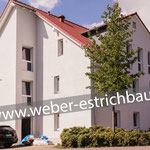 (2017) - Neubau Mehrfamilienhaus, 37115 Duderstadt - Wärmedämmung, Schnellbinder im Treppenhaus, Schwimmender Estrich Calciumsulfatestrich