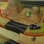 Carrera GO rally racebaan detail