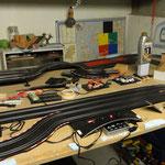 Test ombouw Carrera D132 CU voor gebruik op Carrera D143