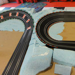 Carrera GO en D143 kuipbocht opbouw