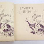 「FAVORITE BOOKS」の文庫本用のカバーイラストを作成しました(2015)