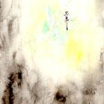 『真昼なのに昏い部屋』のための装丁画