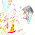 『メアリー・ポピンズ』のための装丁画
