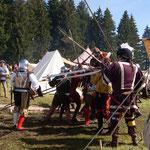 Gefecht im Lager