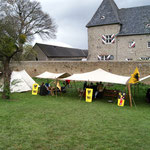 Burg Holzheim & ein Teil des Lagers