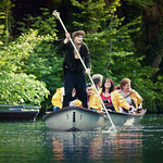 AHOI! Portus Vindelicorum - a lake site-specific project, Augsburg DE, 2013 | Photo: Andreas Kermann