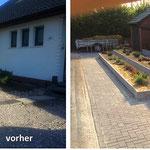 Vorgarten Umgestaltung