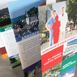 Leben und Arbeiten in Arnsberg: Infoflyer von drei Krankenhäusern