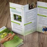 Sauerlandklinik Hachen: Flyer zu verschiedenen Therapien