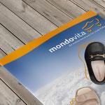 Mondovita Imagebroschüre für Seniorenschuhe
