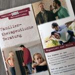 SKF (Sozialdienst katholischer Frauen): Flyer zum Thema familientherapeutische Beratung