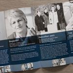 Eine Fotoausstellung im Hospiz – Flyer