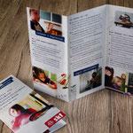SKF (Sozialdienst katholischer Frauen): Flyer zum Thema Lese-/Rechtschreibschwäche