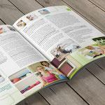 Imagebroschüre für eine Spezialklinik für Multiple Sklerose