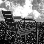 'chairs and the sea'-series, nizza 1986