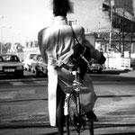 'biker', amsterdam 1985