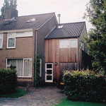 Aanbouw woning Meeuwenlaan te Sneek