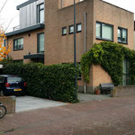 Dakopbouw woning Pieter Holmstraat te Amsterdam/IJburg