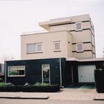 Woning Forsythiastraat te Lisserbroek, voorgevel