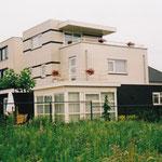 Woning Forsythiastraat te Lisserbroek, zijgevel