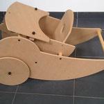Kinderstoel als kruiwagen