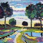 Aus der Kindheit 200 x 240 cm (6-teilig), verkauft