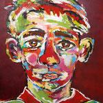 Junge 100 x 80 cm, verkauft