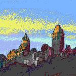 kunstdruck 23/23 - 3  Burg Altena