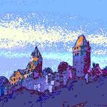 kunstdruck 23/23 - 1  Burg Altena