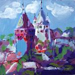 kunstdruck 23/23 - 2  Burg Altena