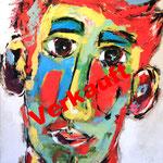 Aus der Kindheit III 120 x 100 cm