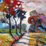 Landschaft 140 x 140, verkauft