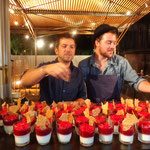Florent Ladeyn (Finaliste de Top Chef) et Eric Guérin