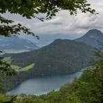 Blick vom Höhenweg zum Hintersteinersee