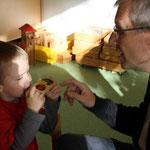 Aus Bad Neuenahr-Ahrweiler sind Jonas Großeltern angereist