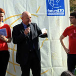 H.Werntgen, Bürgermeister R. Lehmbach und Fug bei der Eröffnung (v. li. nach re.)